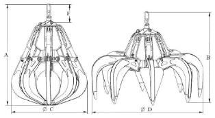 Subsea Grab Drawings