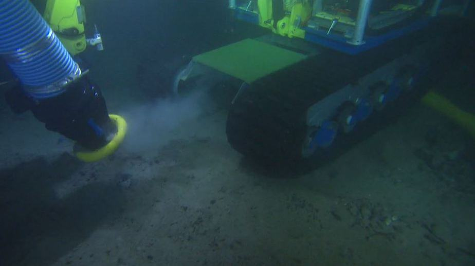 Seabed Levelling