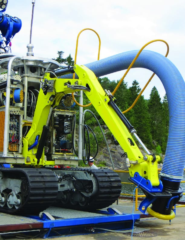 Subsea Rock Bolting