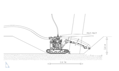 Seabed Excator decommissioning