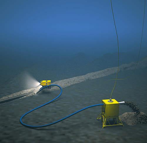 Subsea dregde operation